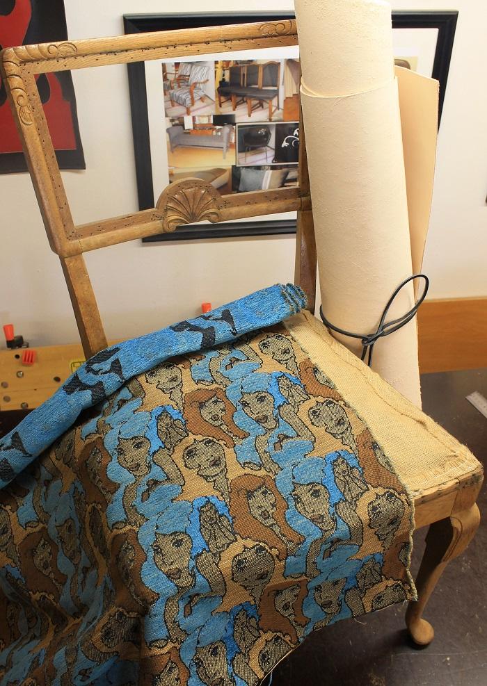 tuolin perinteinen verhoilu